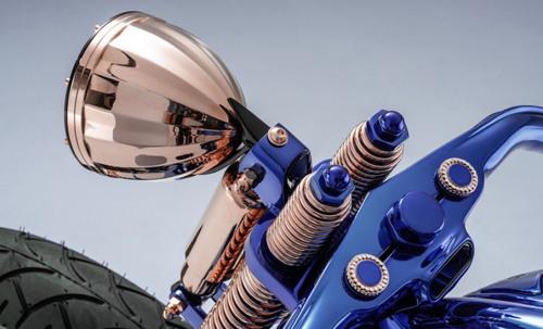 Chiếc Harley Davidson Softail Slim Blue Edition giá 43 tỷ đồng có gì đặc biệt? - 6