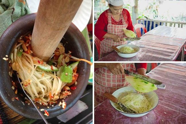 Ứa nước miếng với món nộm 'ngon khó cưỡng', ai đến Thái cũng phải thử một lần - 3