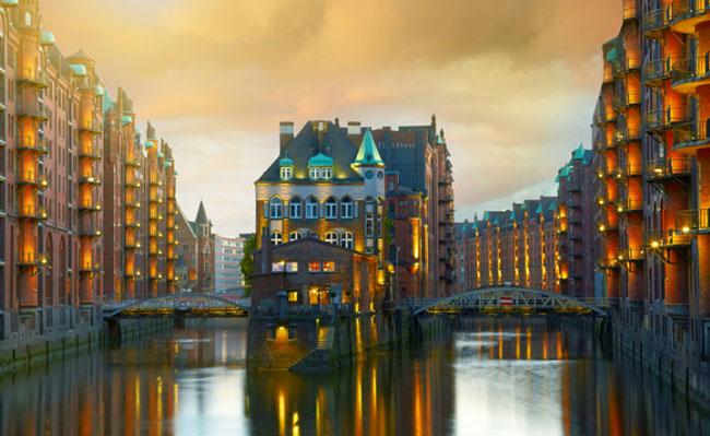 Những thành phố trên mặt nước đẹp như photoshop khiến du khách mê mẩn - 4