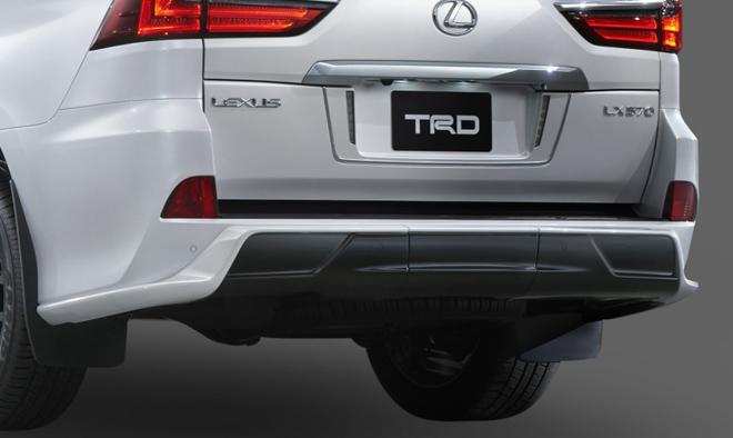 Toyota tung gói độ chính hãng hơn 200 triệu cho Lexus LX570 - 3