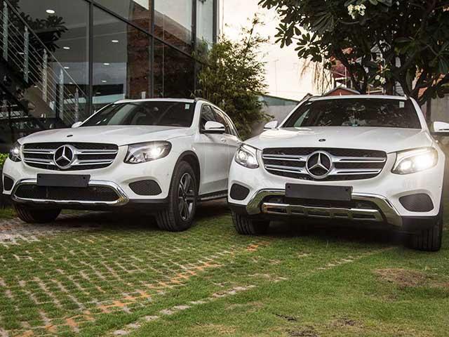 So sánh Mercedes-Benz GLC250 4Matic và GLC200 vừa ra mắt