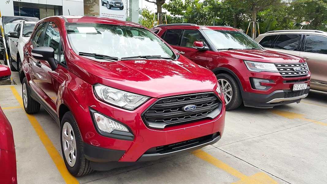 Ford EcoSport phiên bản giá rẻ Ambiente 1.5 MT có giá bán chỉ 545 triệu đồng - 3