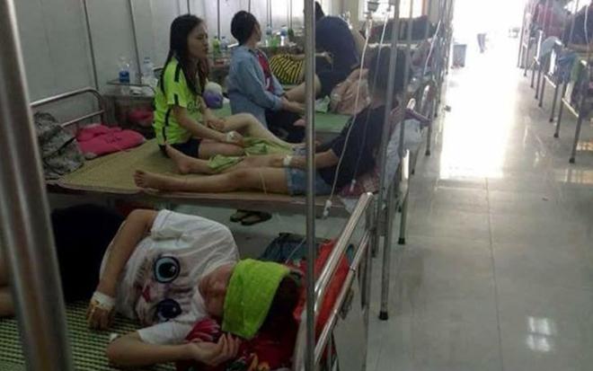 Hơn 70 sinh viên ĐH Sư phạm Hà Nội II nhập viện sau liên hoan chia tay - 1