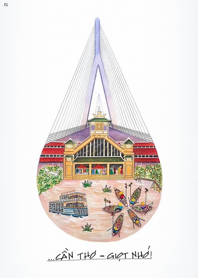 Việt Nam đẹp mê hồn qua trí tưởng tượng thăng hoa của giới trẻ - 2