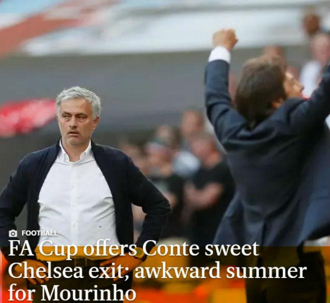 Chelsea vô địch FA Cup: Báo chí đoán Conte bay ghế, Hazard đến Real - 6