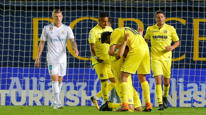 Villarreal – Real Madrid: (vòng 38 La Liga)