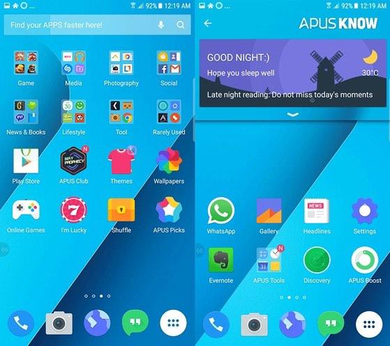 10 nền giao diện Android tốt nhất năm 2018 - 2
