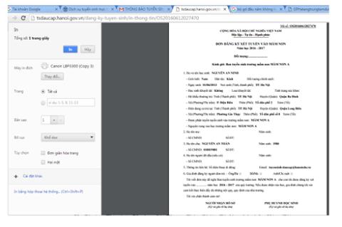 Hướng dẫn cách đăng ký thử nghiệm tuyển sinh trực tuyến vào lớp 6 tại Hà Nội - 6