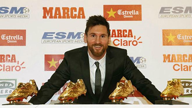 Messi 5-5 Ronaldo Bóng vàng: Giày vàng vô nghĩa, C1 & World Cup mới đỉnh