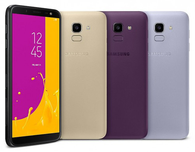 Samsung trình làng Galaxy J6 và J4, giá hấp dẫn - 1