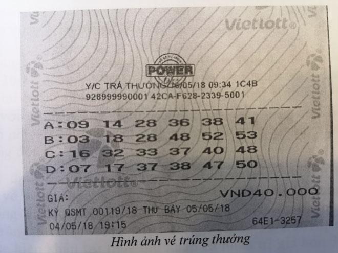 Chủ nhân jackpot 300 tỉ chính thức lộ diện, nhận giải - 2