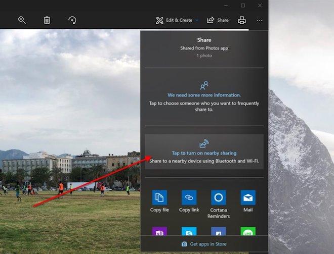 Hướng dẫn chia sẻ dữ liệu trên Windows 10 qua Bluetooth - 2