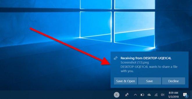 Hướng dẫn chia sẻ dữ liệu trên Windows 10 qua Bluetooth - 7
