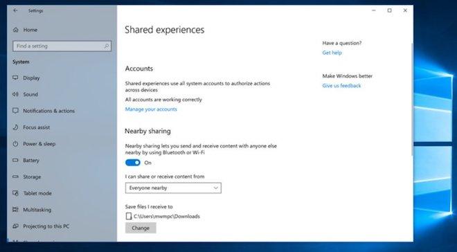 Hướng dẫn chia sẻ dữ liệu trên Windows 10 qua Bluetooth - 8
