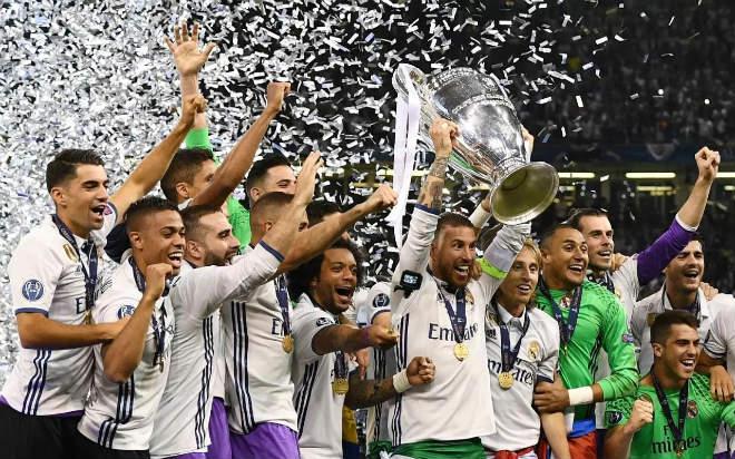 """Real 3 lần đá chung kết C1: Ronaldo & 9 """"vị thần hộ mệnh"""", Liverpool kinh hãi"""