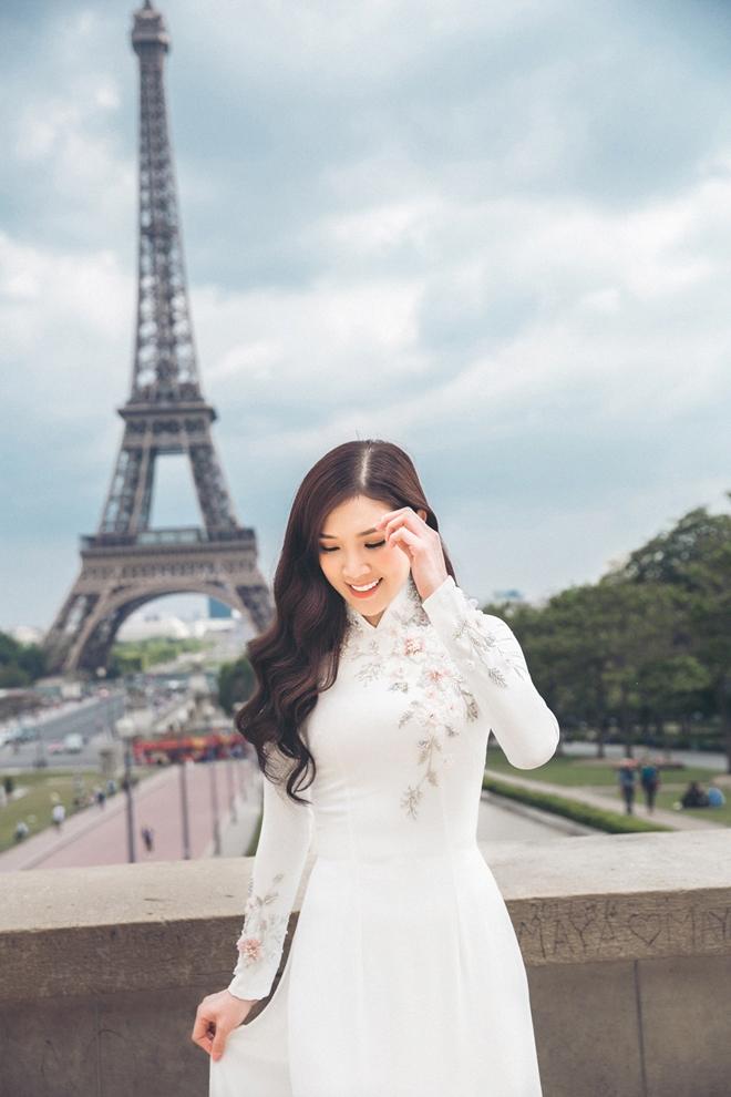 Phí Thùy Linh tình tứ với chồng doanh nhân ở Pháp - 8