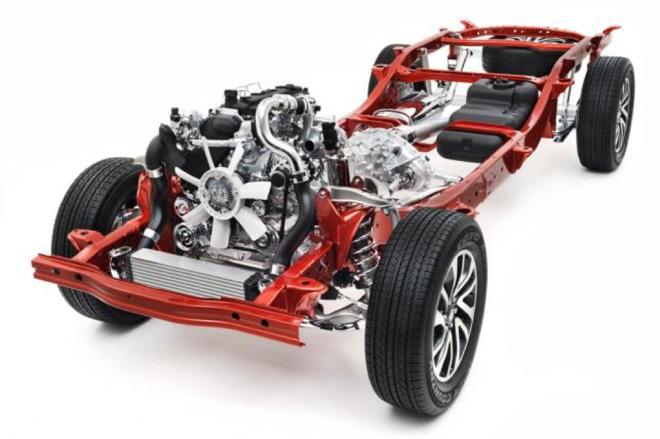 Nissan Navara: khung gầm vững chắc cùng hệ thống treo linh hoạt - 5