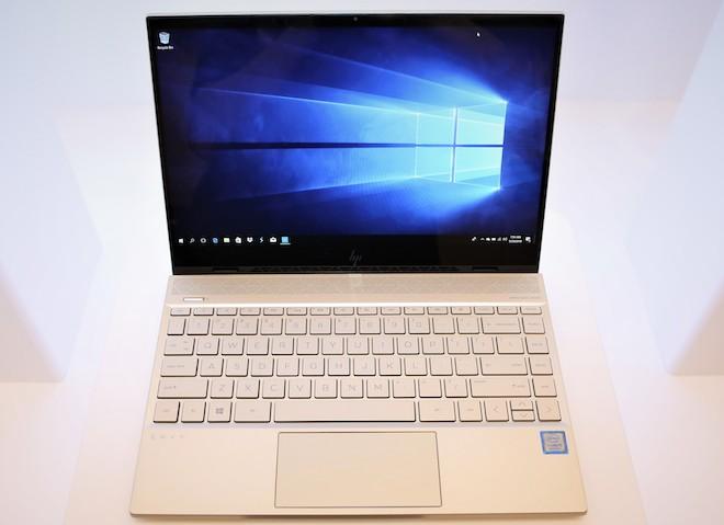 HP giới thiệu laptop Envy 13 thế hệ mới có thời lượng pin