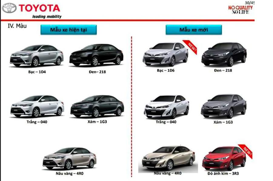 Toyota Vios 2018 mới rò rỉ hình ảnh tại Việt Nam, thiết kế hoàn toàn mới - 1