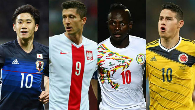 """Nhận định bảng H World Cup 2018: """"Đại bàng"""" Lewandowski đấu """"Mãnh hổ"""", đọ tài cựu sao MU - 1"""