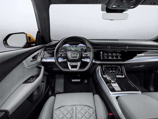 SUV thể thao Audi Q8 hoàn toàn mới chính thức ra mắt: Siêu SUV đến từ tương lai - 4