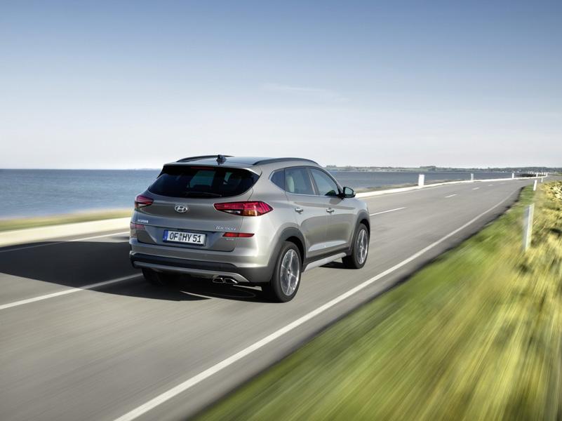 Hyundai Tucson 2019 đã có phiên bản máy dầu mạnh mẽ và tiết kiệm - 3