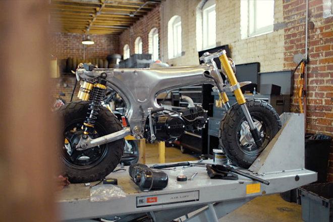 Honda CT70 scrambler độ tuy nhỏ nhưng có võ - 8