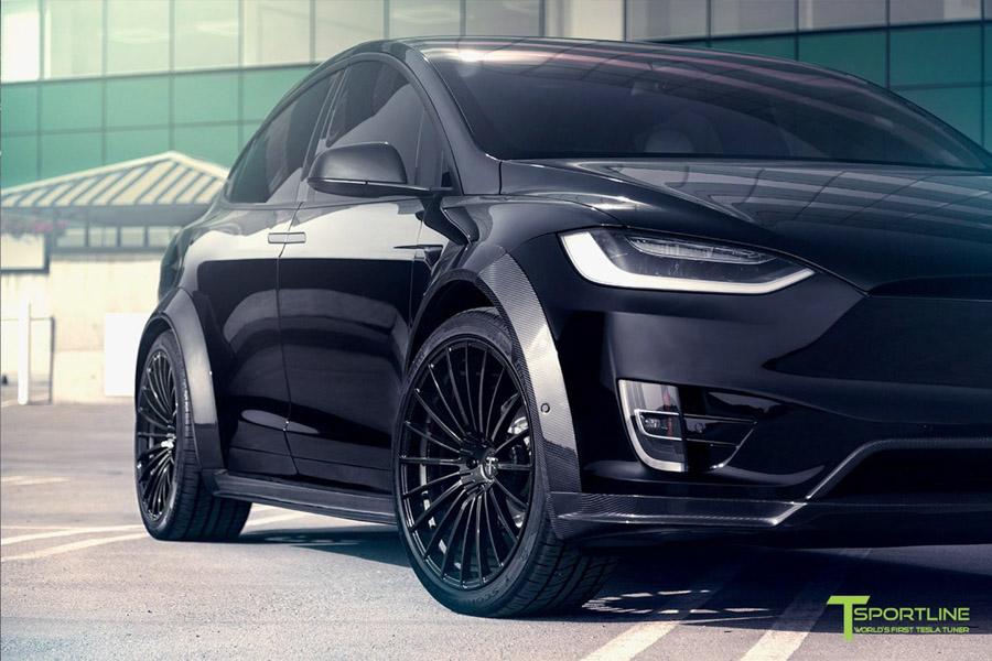 Tesla Model X độ bởi T Sportline: Ai bảo xe điện không thể độ? - 6