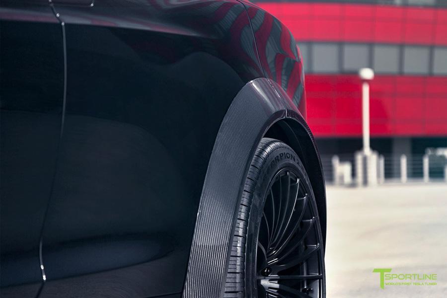 Tesla Model X độ bởi T Sportline: Ai bảo xe điện không thể độ? - 3