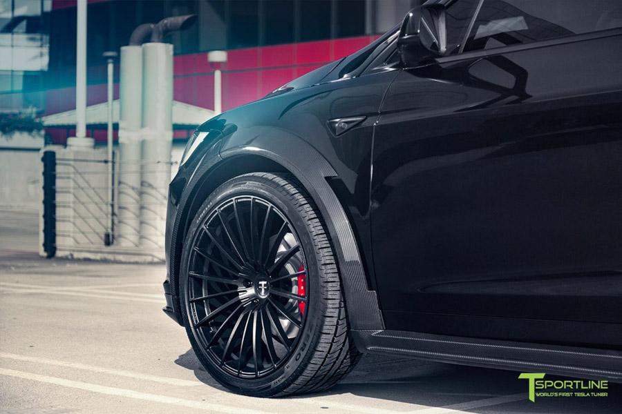Tesla Model X độ bởi T Sportline: Ai bảo xe điện không thể độ? - 5