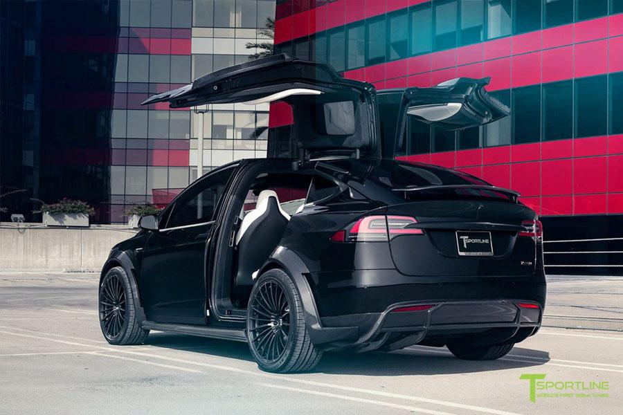 Tesla Model X độ bởi T Sportline: Ai bảo xe điện không thể độ? - 2