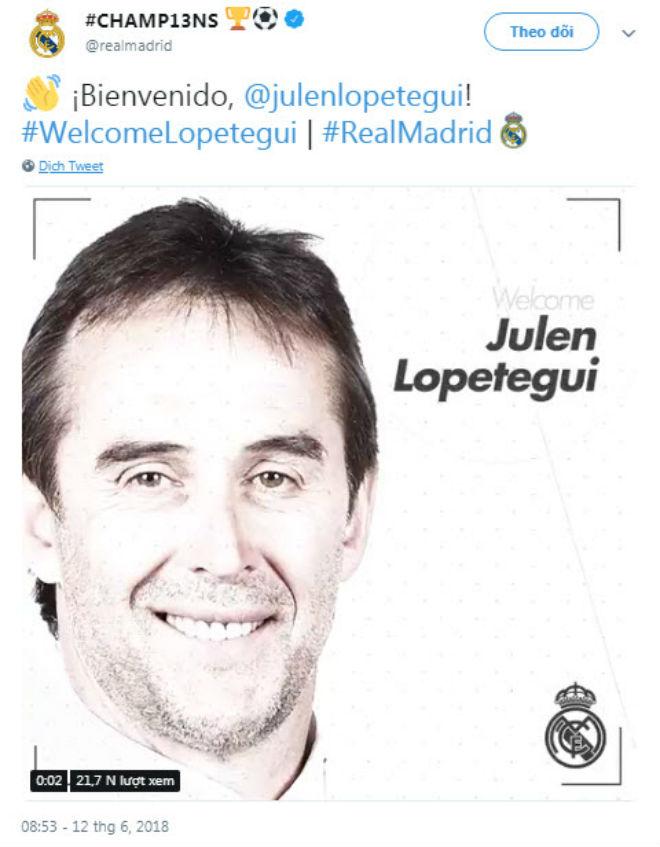 """Real chính thức công bố tân HLV: """"Thuyền trưởng"""" Tây Ban Nha thay Zidane - 1"""