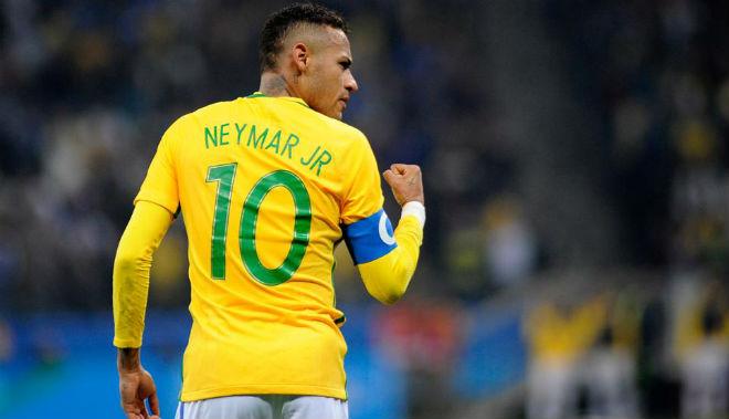 Neymar kỷ lục ghi bàn Brazil: Ôm mộng World Cup, đè Ronaldo & Messi - 1