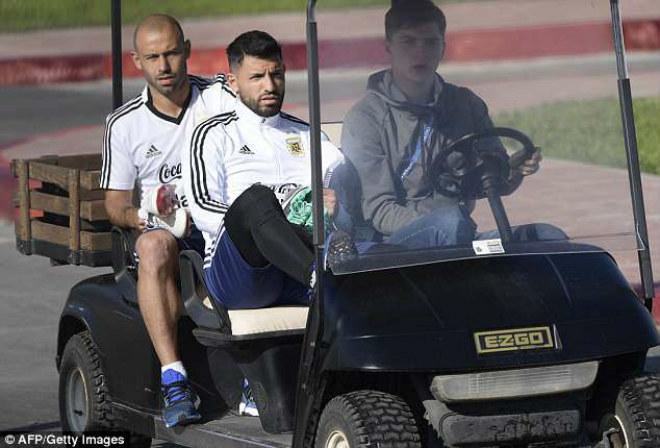"World Cup 2018: Argentina ""gây bão"", tam tấu Messi – Aguero – Higuain tươi rói - 3"