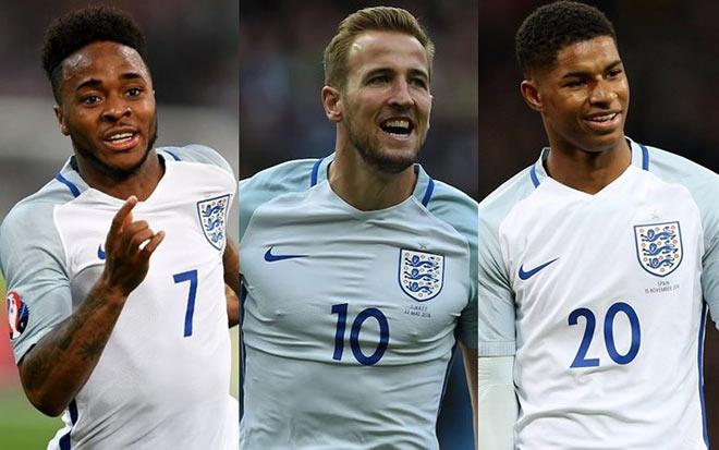 """ĐT Anh quyết """"gây bão"""" World Cup: Sức xuyên phá từ 3 """"mũi tên bạc"""" - 3"""