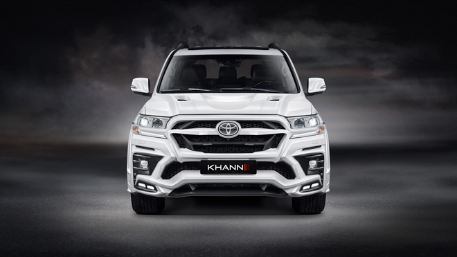 """Toyota Landcruiser """"lột xác"""" dưới bàn tay của hãng độ KHANN - 2"""