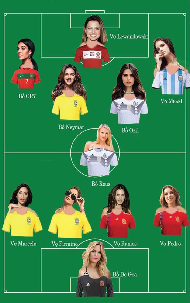Hot nhất World Cup 2018: Đội bóng hồng ngập tràn mỹ nhân đắt giá - 1