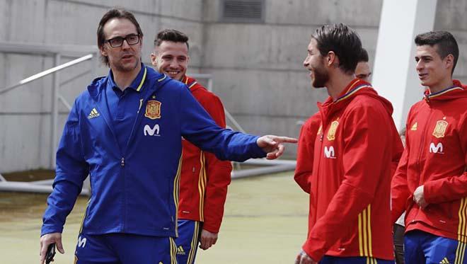 """Chấn động Tây Ban Nha đuổi HLV: """"Đại ca"""" Ramos cầm đầu, lấn át HLV Hierro - 1"""