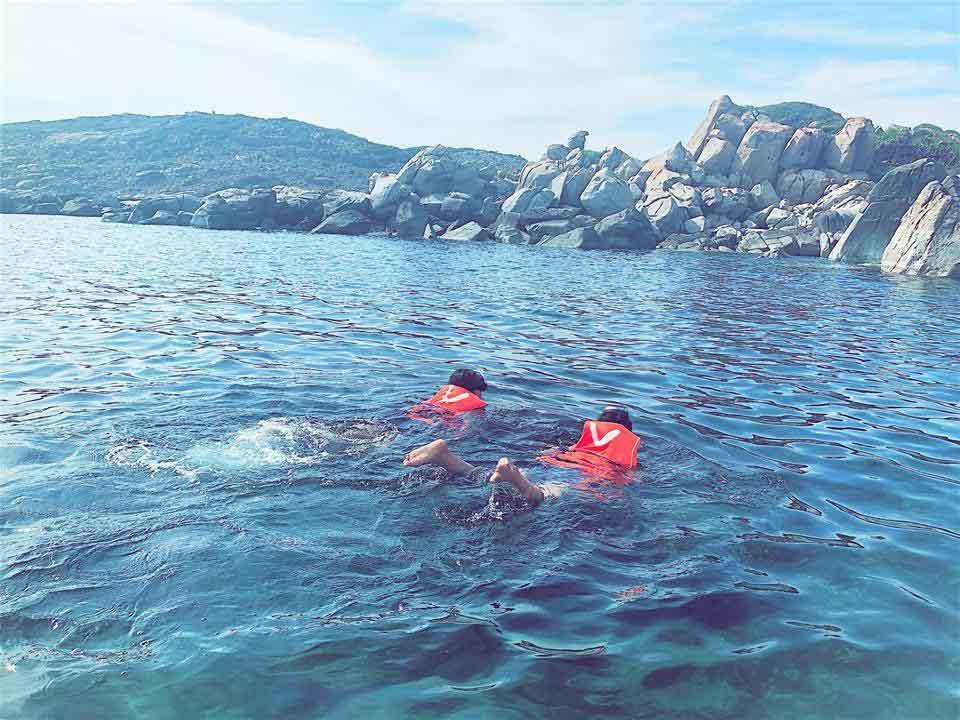 Tận hưởng mùa hè thiên đường trên đảo Bình Hưng - 3