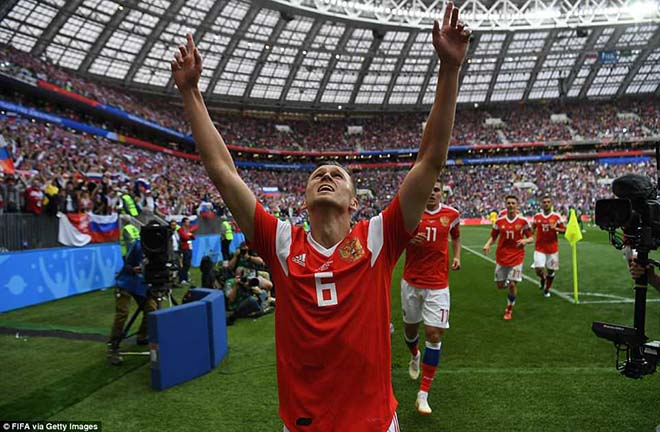 """Đại chiến World Cup 2018 Nga - Saudi Arabia: """"Soái ca"""" thăng hoa, """"50 sắc thái"""" khai hỏa - 10"""