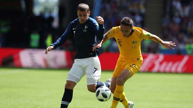 Pháp - Australia: Griezmann, Pogba rực sáng, diễn biến hú hồn (World Cup 2018) - 1