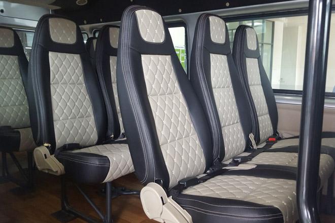 """So sánh Ford Transit và Hyundai Solati: """"Tân binh"""" đấu với """"Vua chở khách"""" - 12"""