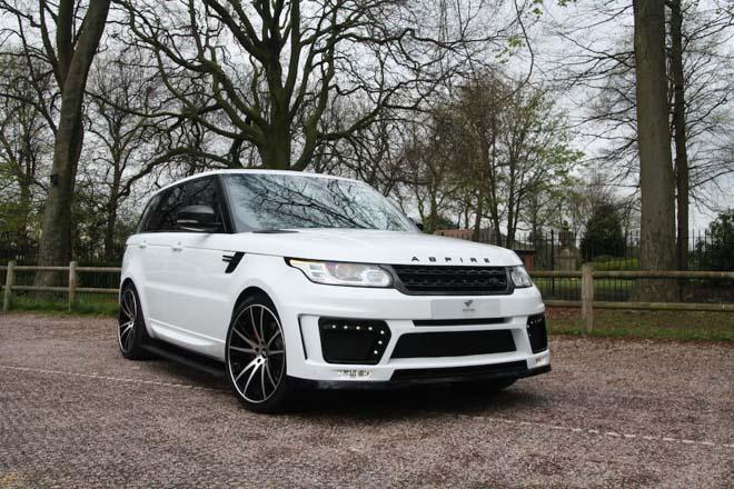 """Range Rover Velar cực """"ngầu"""" với gói độ thân rộng Aspire Design - 6"""