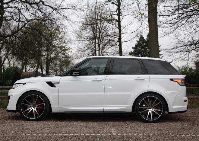"""Range Rover Velar cực """"ngầu"""" với gói độ thân rộng Aspire Design - 7"""