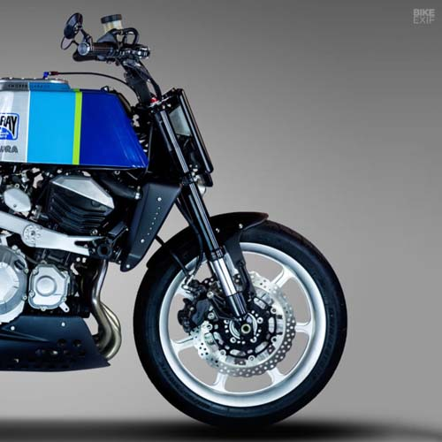 Kawasaki Z800 độ flat track, mang đậm chất phong cách thập niên 80 - 3