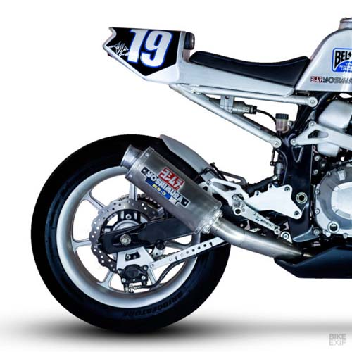 Kawasaki Z800 độ flat track, mang đậm chất phong cách thập niên 80 - 2