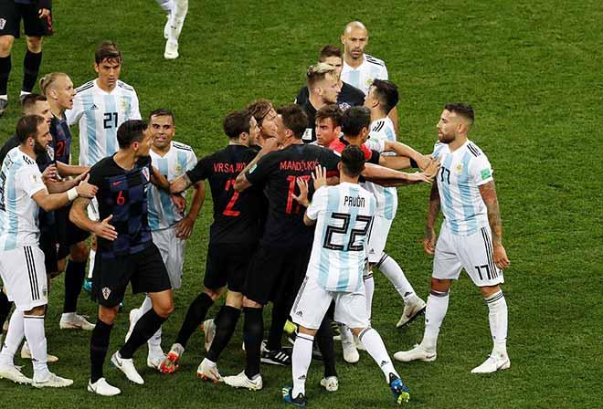 Croatia hủy diệt Á quân World Cup, Argentina - Messi phai mờ giấc mơ - 13