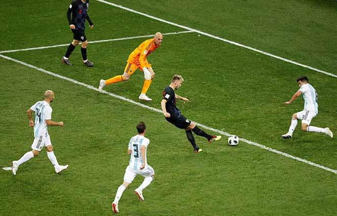 Croatia hủy diệt Á quân World Cup, Argentina - Messi phai mờ giấc mơ - 14