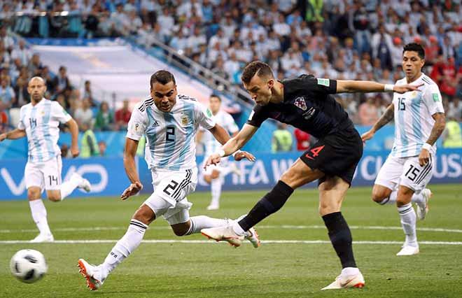 Croatia hủy diệt Á quân World Cup, Argentina - Messi phai mờ giấc mơ - 2