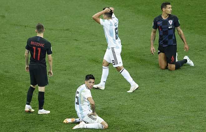 Croatia hủy diệt Á quân World Cup, Argentina - Messi phai mờ giấc mơ - 6